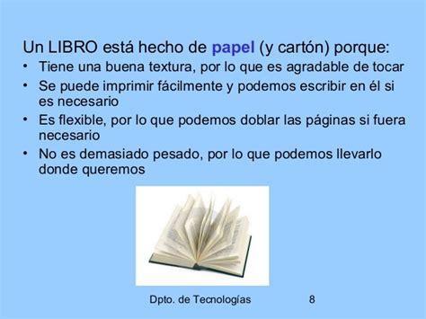 libro conspiraciones por qu por qu 233 usamos los materiales 2 186 eso