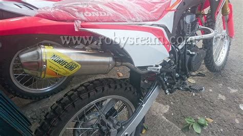 Jual Knalpot by Jual Knalpot Motor Trail Honda Crf 150 L Merk Norifumi Nf