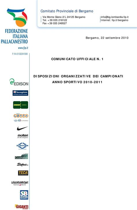 orari scuola ufficio bergamo comitato provinciale di bergamo pdf