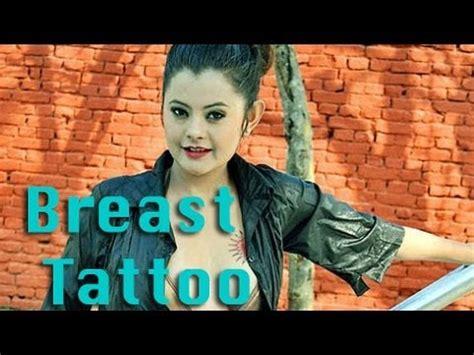 nepali tattoo nepali with breast