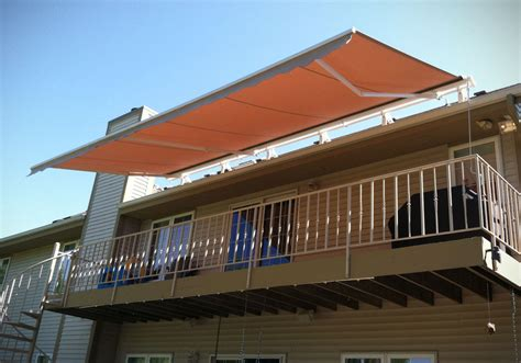 Retractable Metal Awnings by Retractable Window Awnings Northrop Awning Company