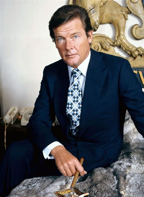 your hairstyle suits you sir roger moore wikipedia