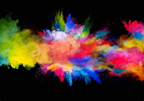 Paint By Number Wall Murals colour explosion wall paper mural buy at europosters