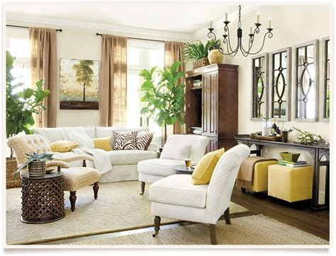 how to decorate a large living room wall chadwick living room ballard designs