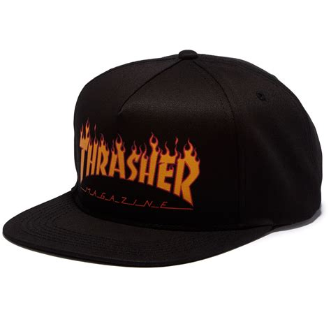 Topi Snapback Thrasher Jaspirow Shopping thrasher logo structured snapback hat