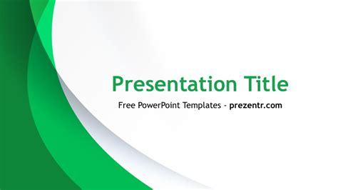 Free Green Curves Powerpoint Template Prezentr Ppt Templates Green Powerpoint Templates Free