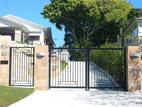 swinging gates for driveways automatic gate aaromat fencing balustrade