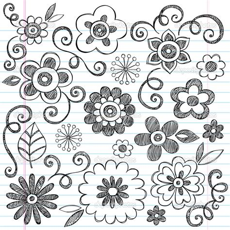 how to do a flowers doodle the same by a customized doodles flowers supplies many up