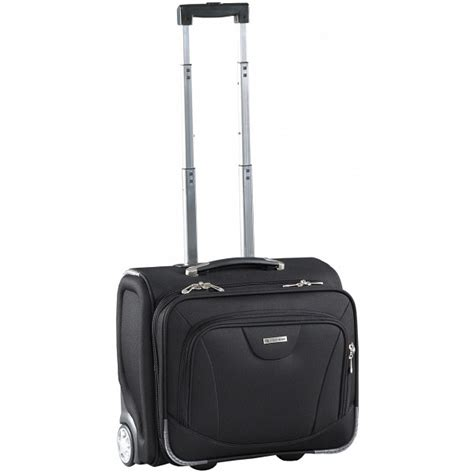 caribee vip cabin size luggage 15 quot laptop trolley