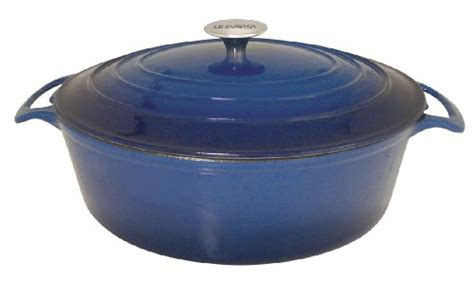 Vicenza Cookware discount 2013 le cuistot vieille enameled cast iron 85 quart oval oven 2 tone