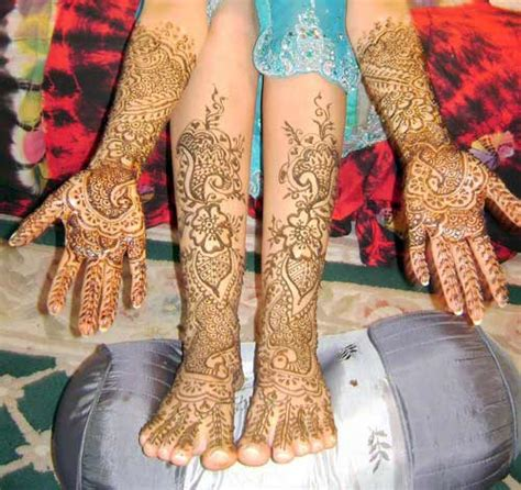 Absolutely Stylish Leg Mehndi Designs For 2011 Yusrablog Com Design On Leg For 2011