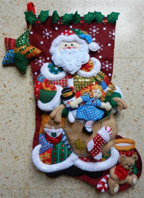 imagenes navidad en fieltro 17 mejores im 225 genes sobre mis manualidades navidad en
