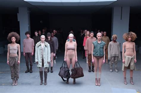 Fashion Week Kayne 2 by Kanye West S Fashion Show Called Unethical By Designer
