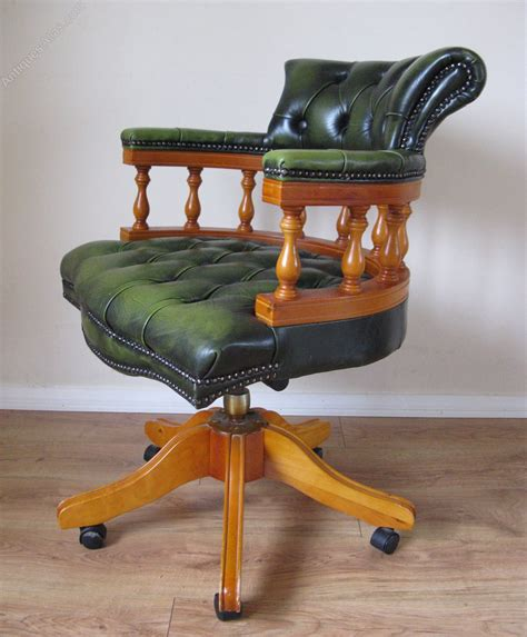 armchair with desk antiques atlas chesterfield office desk armchair