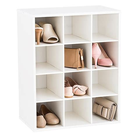 the container store shoe storage 12 pair shoe organizer the container store