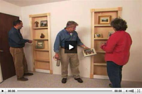 How To Make A Secret Closet by How To Turn Closet Door Into Bookcase Stashvault