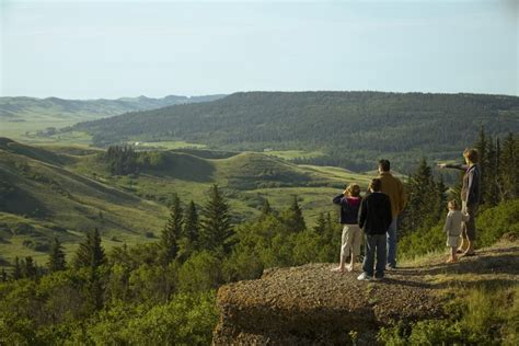 cypress hills interprovincial park trails tourism