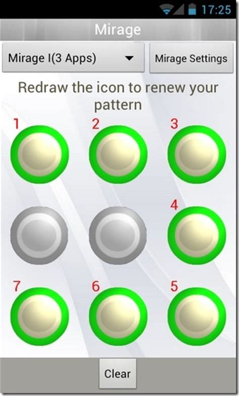 Android Pattern Replace | mirage customizable pattern based lock screen replacement