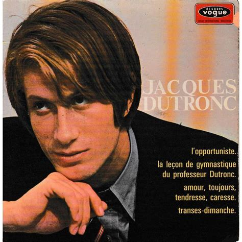 jacques dutronc france 3 l opportuniste 3 original french press fleepback
