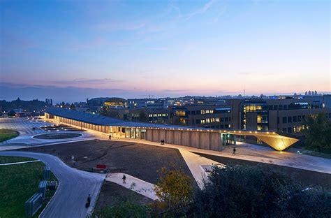 pavillon lausanne fahrni fassaden systeme lyssneubau epfl espaces et