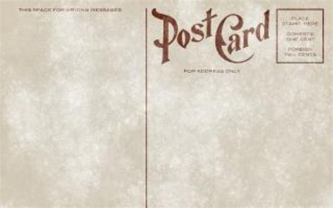 vintage postcard template download google search