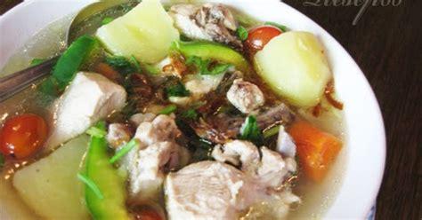 membuat kaldu ayam beku resep untuk membuat sup ayam