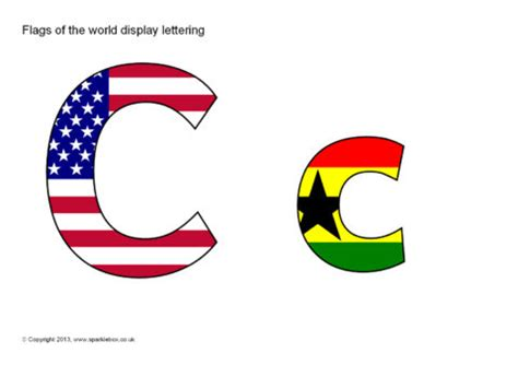 flags of the world lettering mixed flags of the world display lettering sb9262