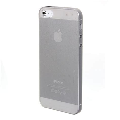 Ultra Thin Silicone Iphone 5 5s 010 ultra thin clear silicon soft matte for iphone 5 5s