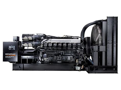 generac industrial power diesel generators
