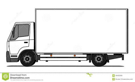 Lieferwagen Vektor Abbildung Illustration Von Marke
