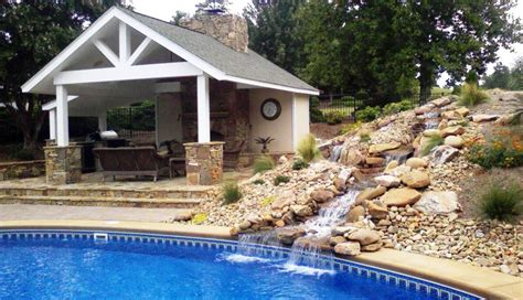 house plans with pools and outdoor kitchens how to build an outdoor kitchen with pool