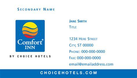 comfort inn card choice hotels international comfort suites business