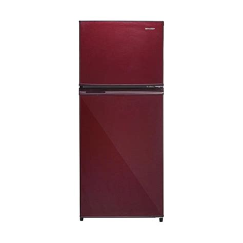 Tutup Freezer Sharp jual sharp sj 195mg sr kulkas two door 172l