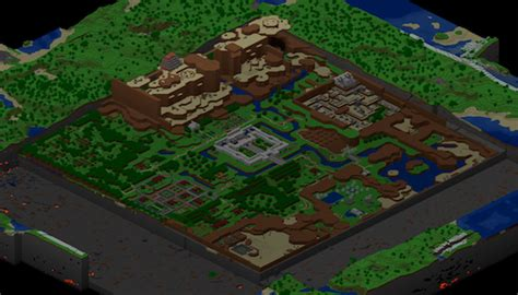 legend of zelda map for minecraft zelda map constructed in minecraft the mary sue