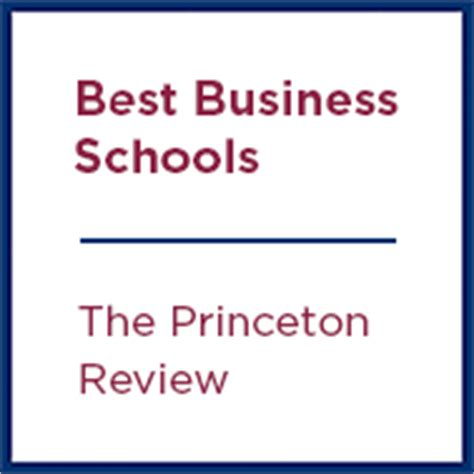 Princeton Review Top Mba Programs by Master Of Business Administration Mba