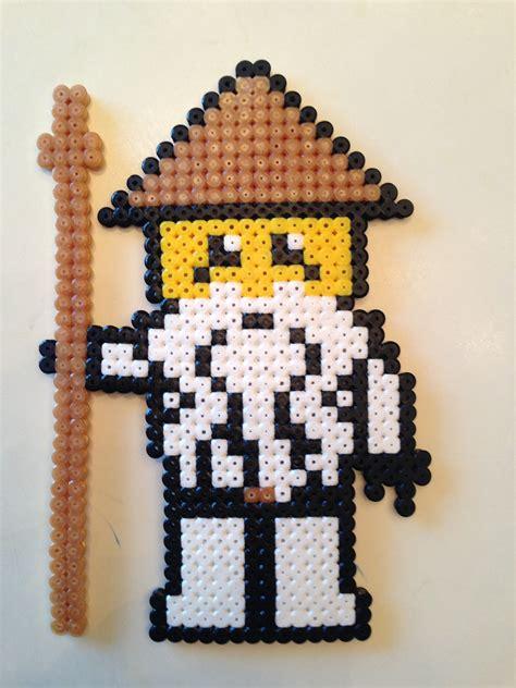 perler fusion hama ninjago master wu perler