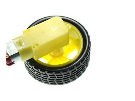 motor dc plastic dilengkapi roda gearbox motor dc plastik murah malang electronic
