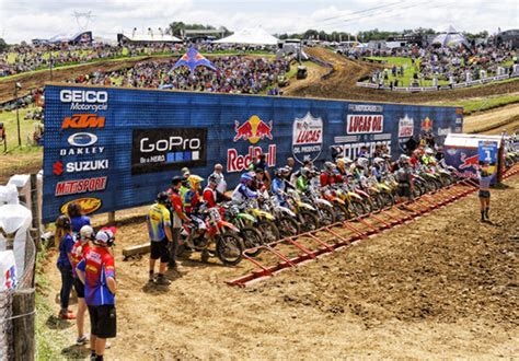 ama outdoor motocross schedule ama motocross chionship