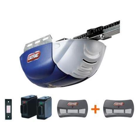 Genie Chainlift 600 1 2 Hp Dc Motor Chain Drive Garage Home Depot Garage Door Motor