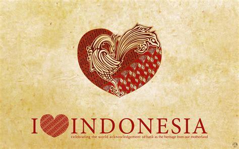 wallpaper batik papua i love indonesia blognyaprael
