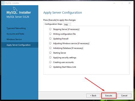 tutorial mysql di xp tutorial cara install mysql dan cara konfigurasi mysql