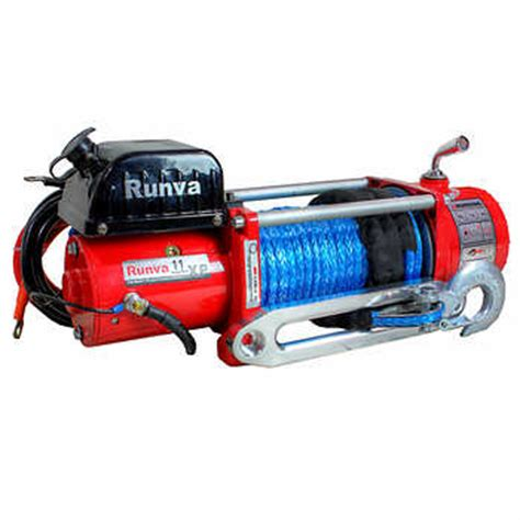 Runva Electric Winch Ewg 6000 runva 11xp s 4989 5 kg 11 000 lb electric winch with synthetic rope