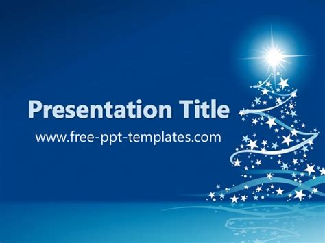 merry powerpoint template ppt template
