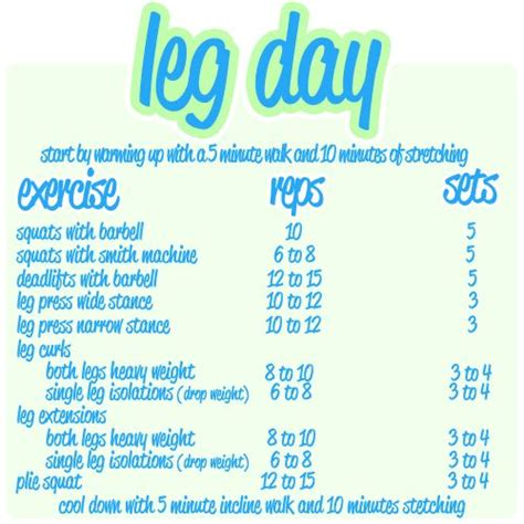 17 best ideas about great leg workouts on