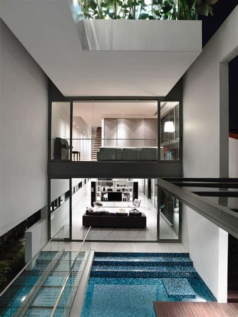 jalan angin laut house  singapore  pool sanctuary
