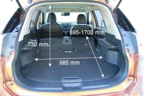 Nissan X Trail Kofferraumvolumen by Adac Auto Test Nissan X Trail 1 6 Dci Tekna 4x4i
