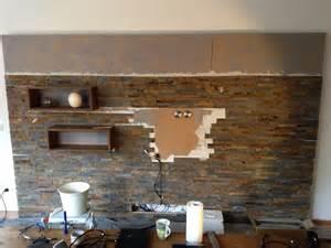 Wohnzimmer Ideen Mit Steintapete Wohnwand Tapete Gartenm 246 Bel 2017