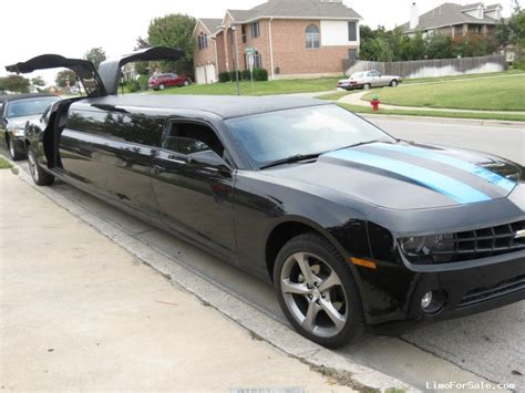 Stretch Limo Prices by Used 2013 Chevrolet Camaro Sedan Stretch Limo