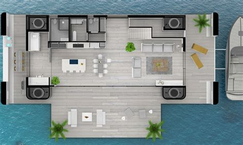 home design buzzwords these hurricane proof floating homes are packed with green