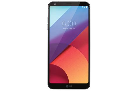 Hp Lg G6 lg g6 acg android smartphone as993 in black lg usa